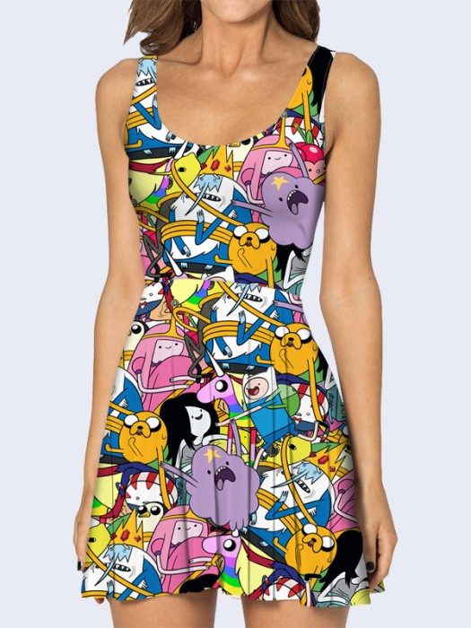 Платье Adventure Time with Finn and Jake