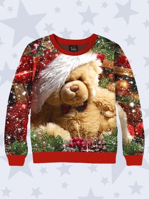 Свитшот Teddy bear New Year