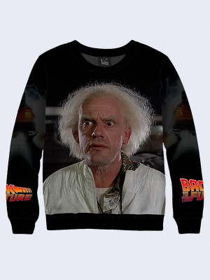 Свитшот Back to the Future Doc Brown