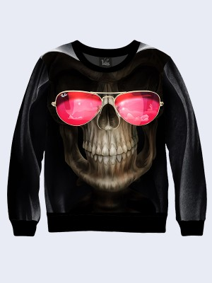 Свитшот Skull with glasses