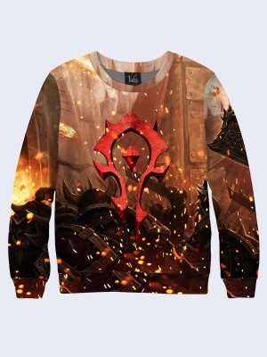 Свитшот For the Horde emblem
