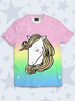 Футболка Modest unicorn