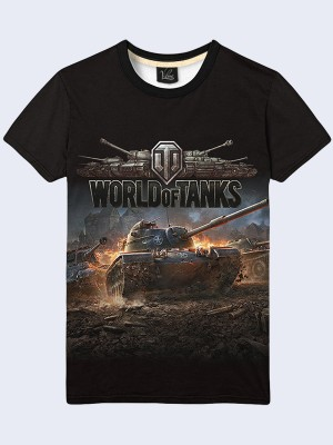 Футболка Game World of Tanks