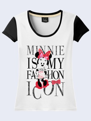 Футболка Minnie is fashion icon