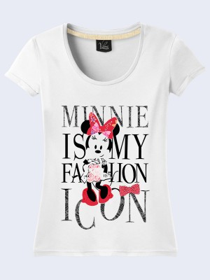 Футболка Minnie Mouse is fashion icon