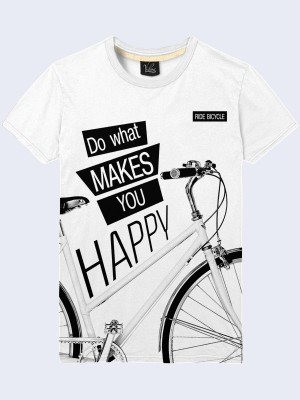 Футболка Do what makes you happy