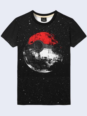Футболка Poke Ball Death Star