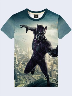 Футболка Black Panther Marvel