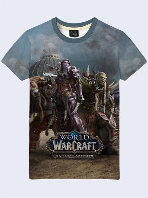 Футболка Battle for Azeroth Horde