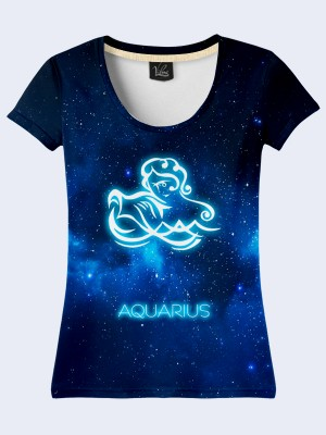 Футболка Aquarius zodiak